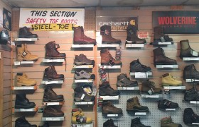 No matter the job, we have the work boots for you. Jersey Uniform, Linden, NJ 07036