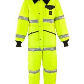 Refrigiwear Iron tuff high visilbility coverall. Rated to 50, Jersey Uniiform, Linden, NJ 07036