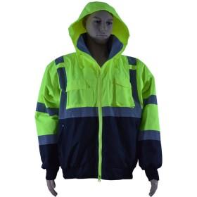 High visibility, insulated rain jacket, Jersey Uniform, Linden, NJ 07036