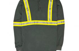 Rasco FR Hi-Vi Henley, Jersey Uniform, Linden, NJ 07036