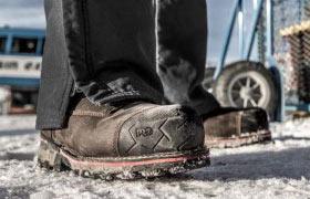 Timberland Boondock boots in action, Jersey Uniform, Linden, NJ 07036